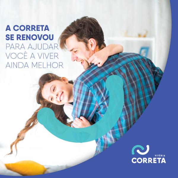 Correta Vitória Rebrand